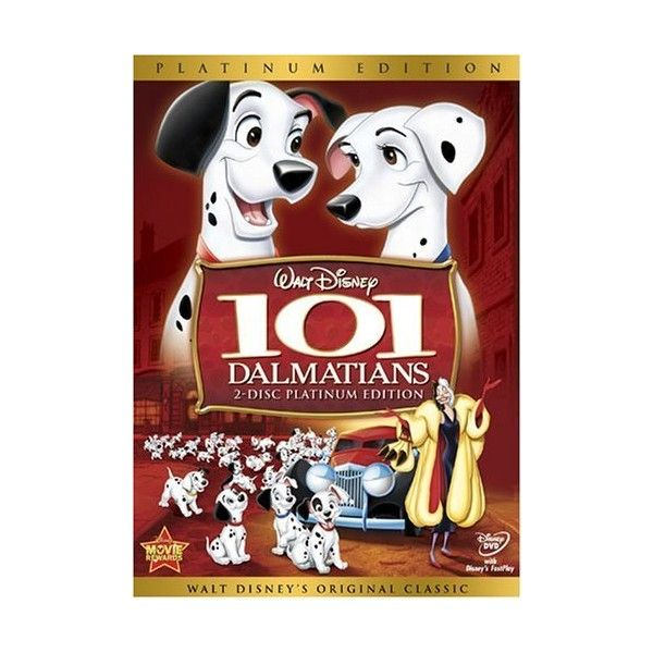 101 Dalmatians (Two-Disc Platinum Edition) (110 BRL) ❤ liked on Polyvore featuring movies, dvds, dvd, disney and electronics