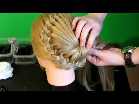 DIY Einzigartige Geflochtene Bun Frisur