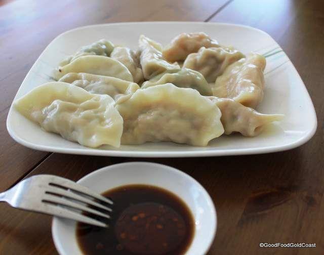 Yummy dumplings. Made by hand. A delight! Yummy Dumplings, Robina.