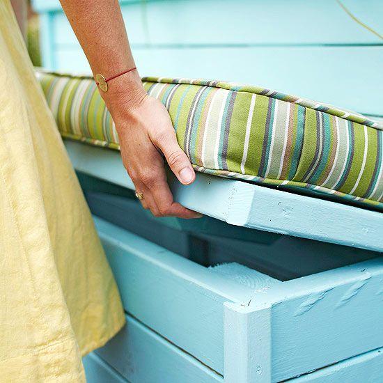 Organize This: Outdoor Gear - Storage Bench