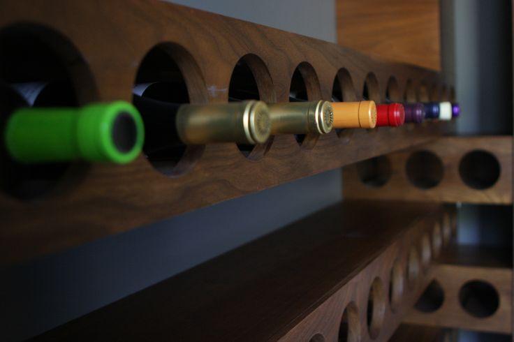 http://www.dorothymacik.com/ #dorothymacikdesign #design #interiordesign #simivalley #home #industrialstyle #modern #winerack