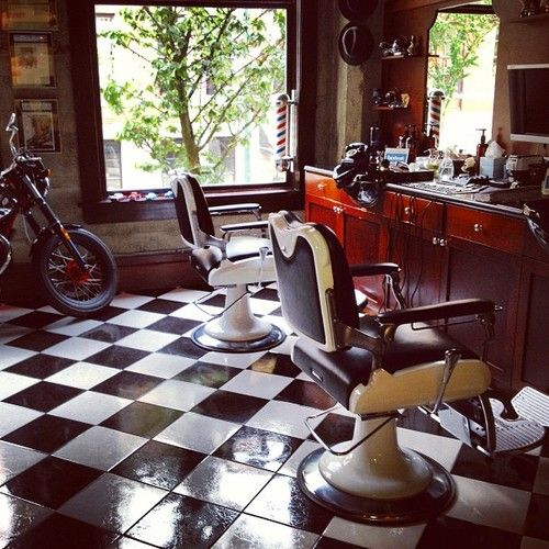 Barber Shop Flooring | Joy Studio Design Gallery - Best Design