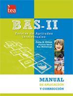 El BAS-II, Escalas de Aptitudes Intelectuales es una de las más prestigiosas baterías de origen europeo para evaluar en profundidad las aptitudes intelectuales y el rendimiento educativo de los niños y los adolescentes. Formada a su vez por dos baterías, BAS-II Infantil (2:6 a 5:11 años) y BAS-II Escolar (6:0 a 17:11 años), supone una herramienta de evaluación psicológica apropiada para los ámbitos clínico, educativo y neuropsicológico.