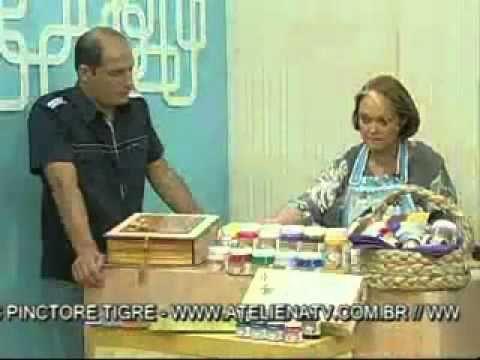 Aquarela Brasil mostra suas novas Tintas PVAs neste passo a passo apresentado por Ana Maria Gomes no programa Ateliê na TV, com Dotan Mayo.