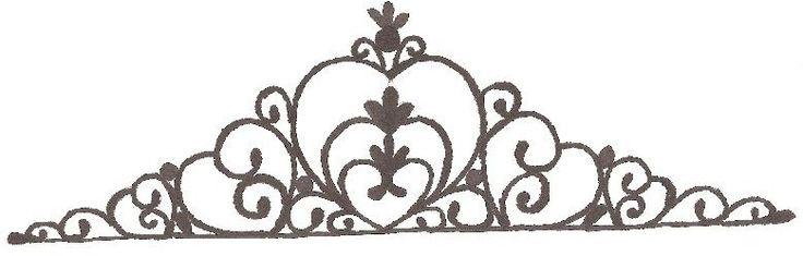 Prinsessekake med tiara