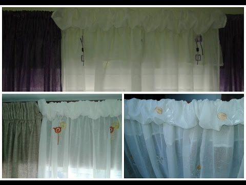 855 best images about cortinas tela tejidas macram on for Confeccion cortinas