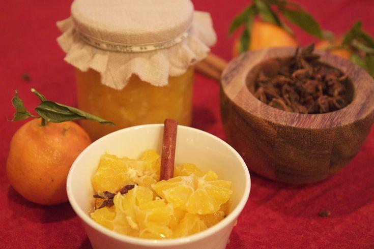 Kryddermarinerte klementinar #klementiner #mandariner #clementine #citrus #sitrus #jul #christmas