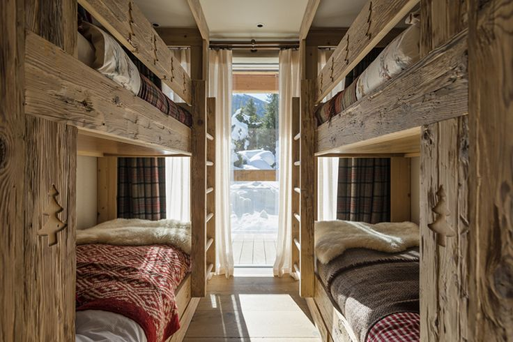 Interior Design-- guess you don't need lots of room for a bunkie