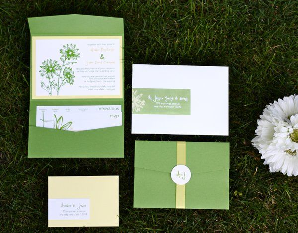 Wedding Invitations - pocketfolds