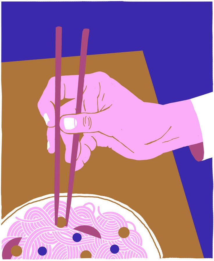 #MijkeCoebergh, #illustration, #noodles, #ramen, #asian, #hand, #food, #foodillustration, #pencildrawing, #digitaldrawing, #colourfull, #print, #printdesign, #risoprint, #screenprint, #chopsticks