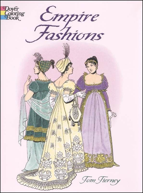 Fishpond New Zealand Empire Fashions Colouring Book By Tom Tierney Illustrated Buy Books Online ISBN