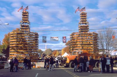 Keene Pumpkin Festival ...truly amazing & fun destination for the Guiness World Record of most lit jack-o-lanterns in ONE location!!  Keene, NH...AMAZING!