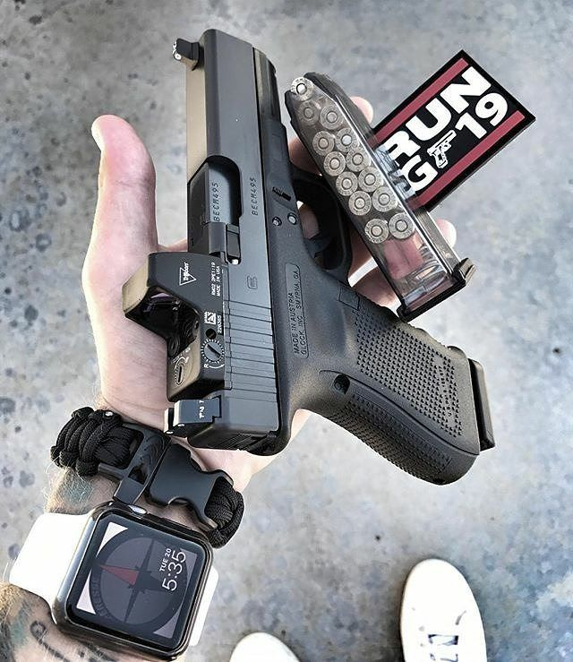 GLOCK Speed up and simplify the pistol loading process  with the RAE Industries Magazine Loader. http://www.amazon.com/shops/raeind