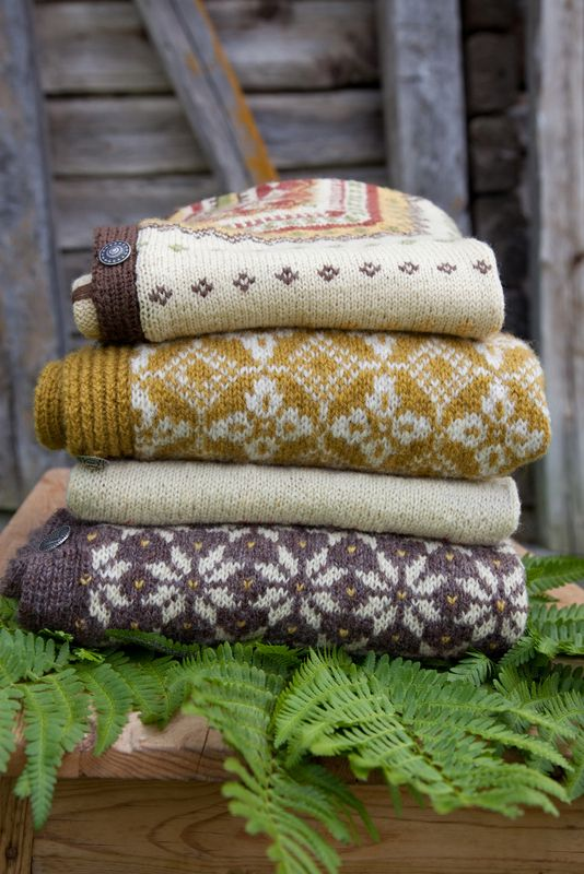 lovely patterned sweaters