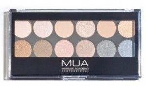 MUA Pro-Eye Palette Undressed Paleta Cieni do Powiek
