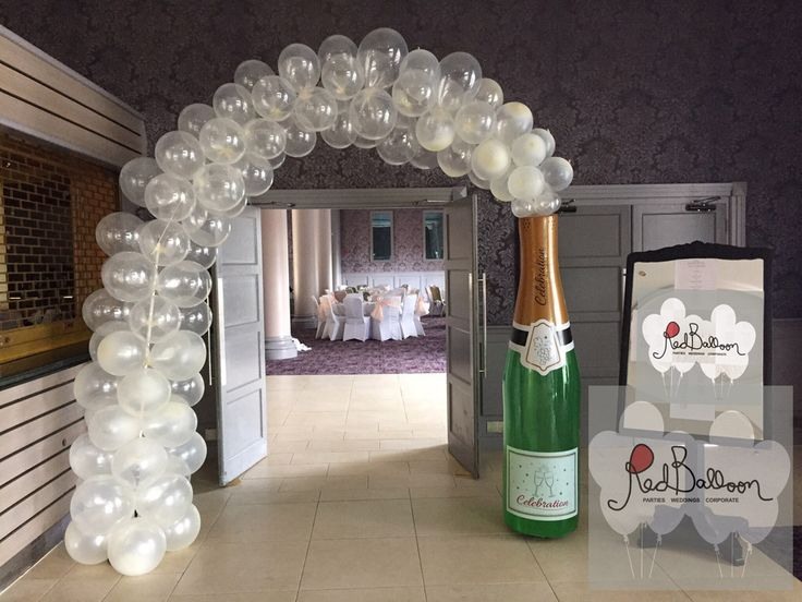 17 best ideas about arch for wedding on pinterest for Balloon decoration for weddings