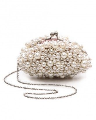 Santi Imitation Pearl Clutch (Only $95!)