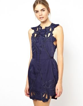 Alice McCall Sea Rose Dress with Cutwork - Jenna Coleman's dress from Doctor Who's 'Listen'   I want it so bad!