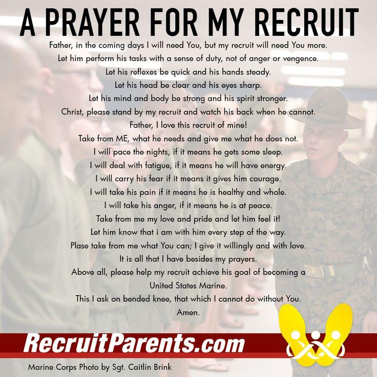 Crucible Prayer #bootcamp #Marines #USMC #crucible