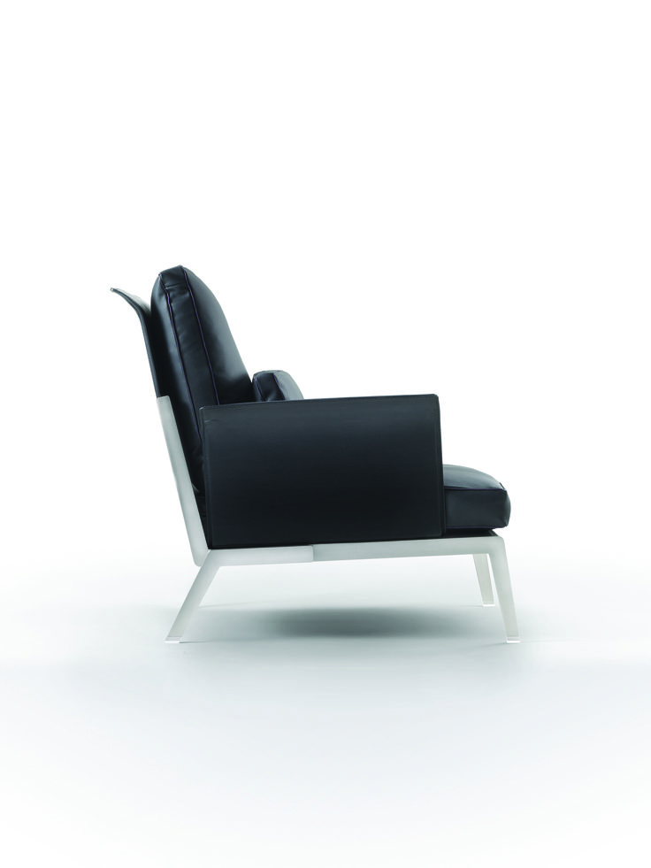 FLEXFORM HAPPYHOUR armchair #design Antonio Citterio