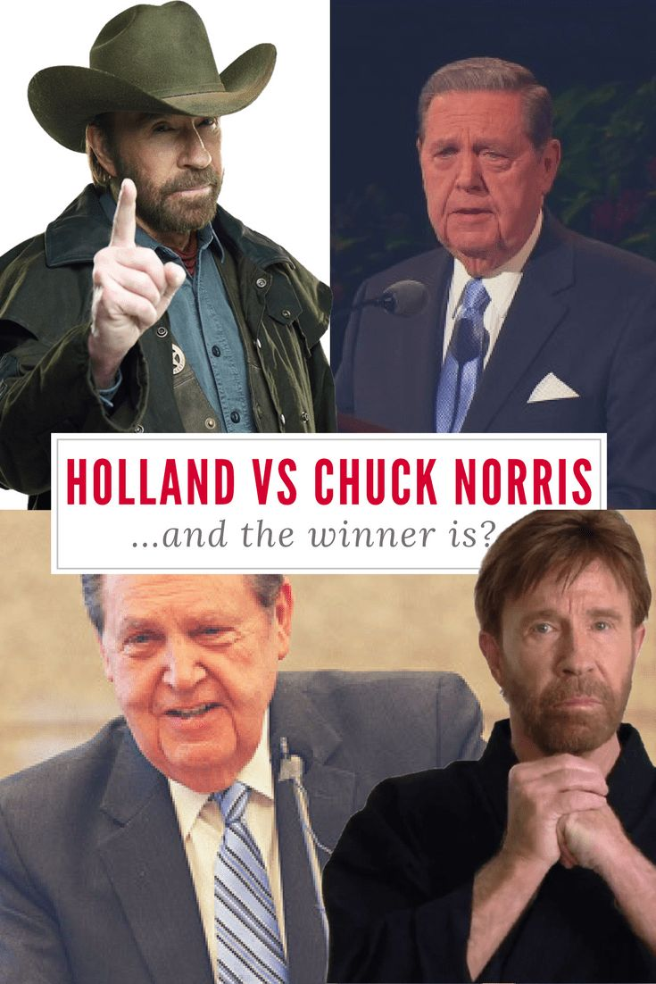 Elder Holland vs Chuck Norris - who is cooler? Check out these hilarious memes to find out!