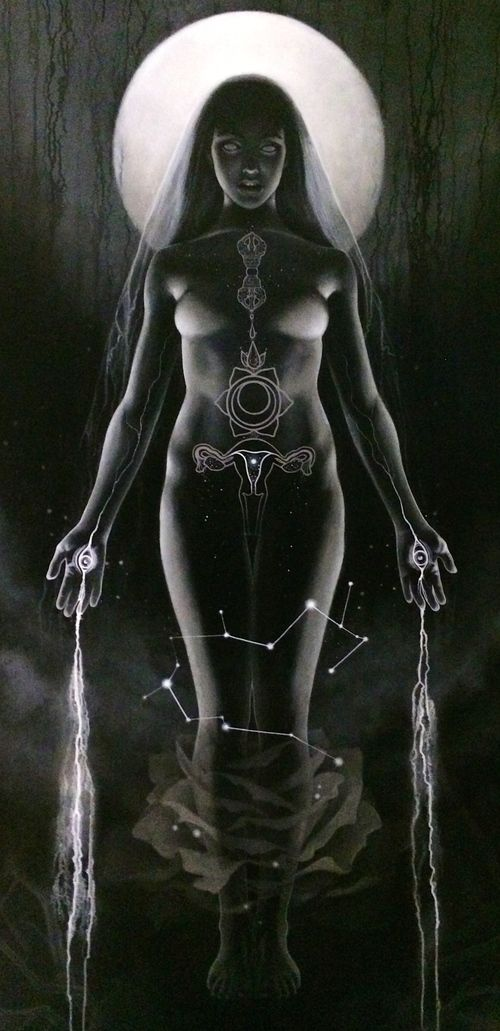 gorettmisstag: Heather Mclean - The Holy Grail, 2014-2015 / full moon goddess / Anatomical <3