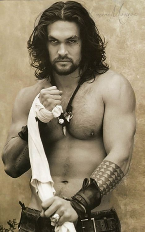 Jason Momoa. Raised in Iowa and 28 days older than me.  Dreams are made of this. He walked the same ground that I did omg SO HOOOOT