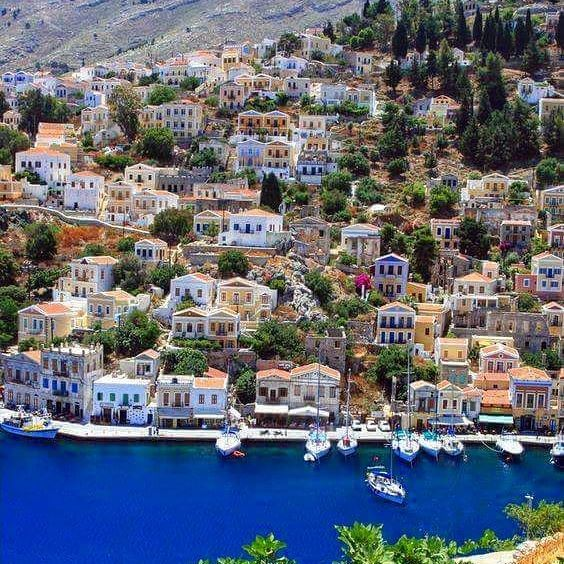 Symi island. #symi #greekislands #visitgreece #greece #hellas #greek #greeks #greeklife #greekgirl