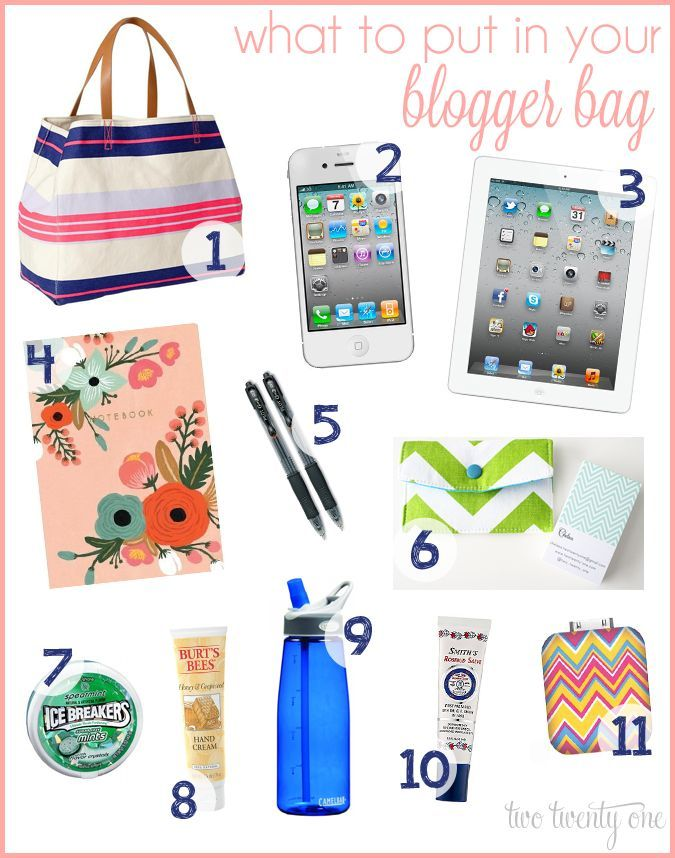 MUST read! What to Take to a Blog Conference + Printable Packing Checklist!