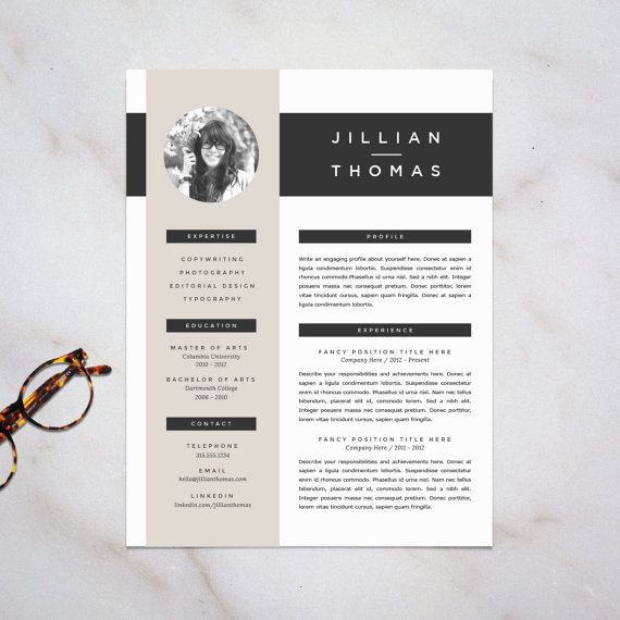 10 best Resumes design images on Pinterest Beer, Boyfriends and - graphic design resume template