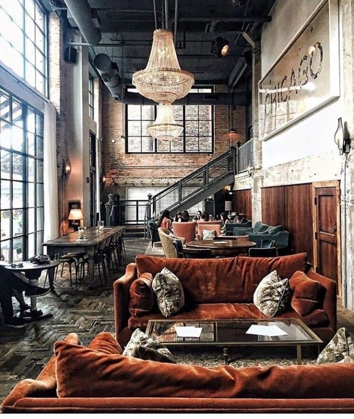 Modern Industrial Apartment With Images Chicago Interior Design Soho House Chicago Loft Design