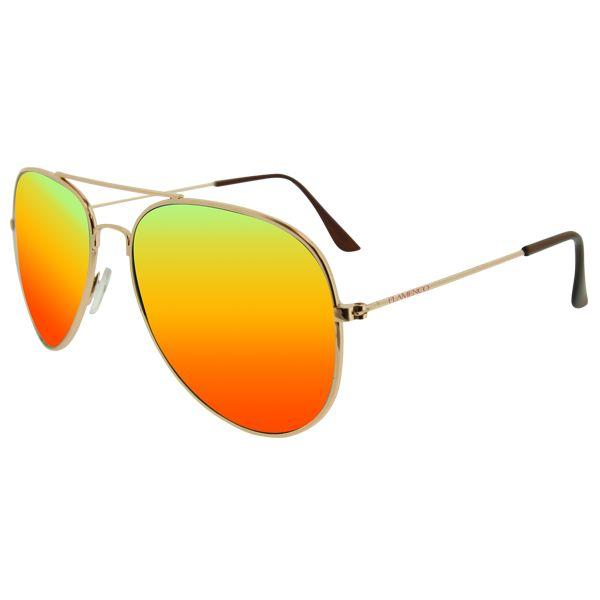 Gafas de The world of Calgary cada Domingo en tu quiosco con el periódico ABC  presentadas por FLAMENCO Y MALENA COSTA.  Modelo aviador con marco en metal y cristal espejo en amarillo.  Protección UV 400 y dentro de la normativa legal europea.  #gafas #moda #trend #trendy #fashion #sunglasses #diarioABC #malenacosta7 #calgary #relojescalgary #domingo #promocion #moda #cool #bonito
