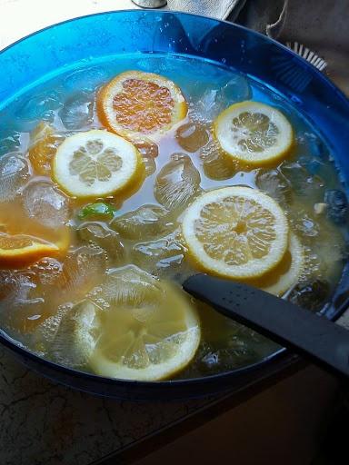 Swimzys matblogg: Sprudlene punsj (alkoholfri)