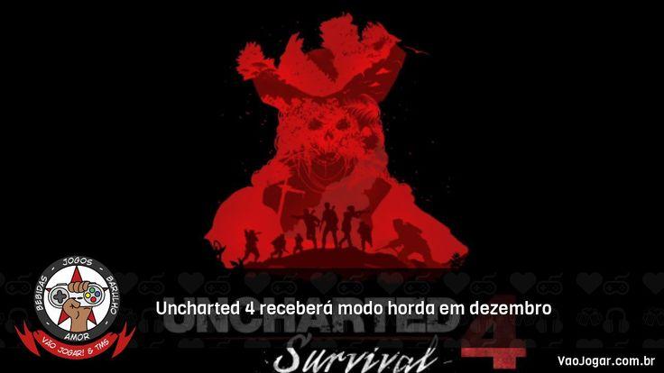 Além da adição ao multiplayer do jogo, existem rumores sobre uma possível expansão focada em Sam.  #Uncharted4 #PS4