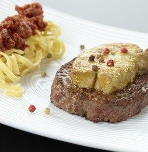 Recette Steaks Hachés façon Rossini | Bigard