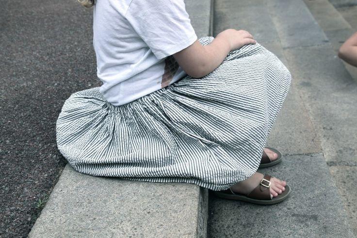 Les jupes de l'été ♡ #enseersucker | By Little Ones