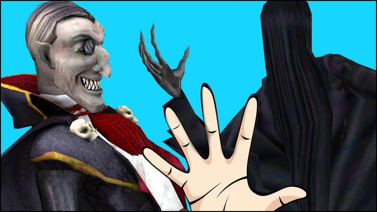 Unseen Scary Dracula Cartoons | Daddy Vampires Finger Family | New Anima...