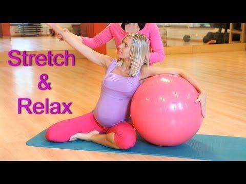 Mobilisation et étirement du dos pendant la grossesse. - YouTube