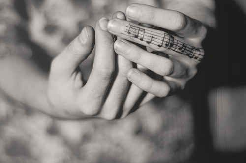 I would like this on a different finger. Maybe the melody of I'll fly away.