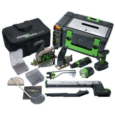 Power 8 Workshop-8 In One Cordless Power Tool Set