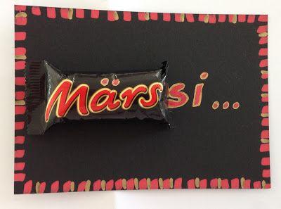 Märssi - Merci - Dankeschön - Mars - süsser Dank