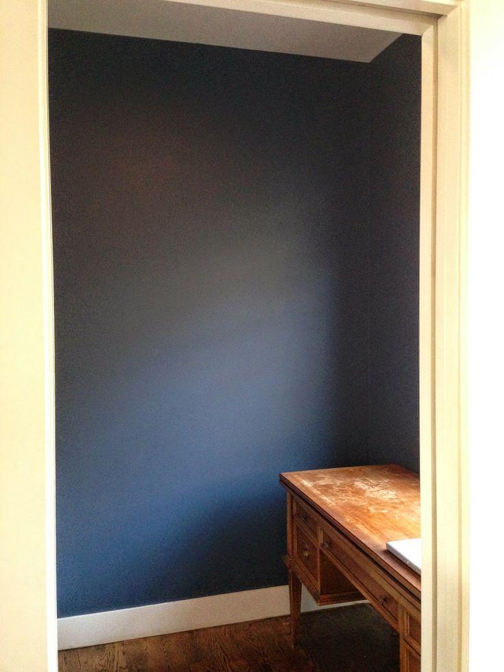 Benjamin Moore Van Deusen Blue Bathroom: Benjamin Moore's Van Deusen Blue