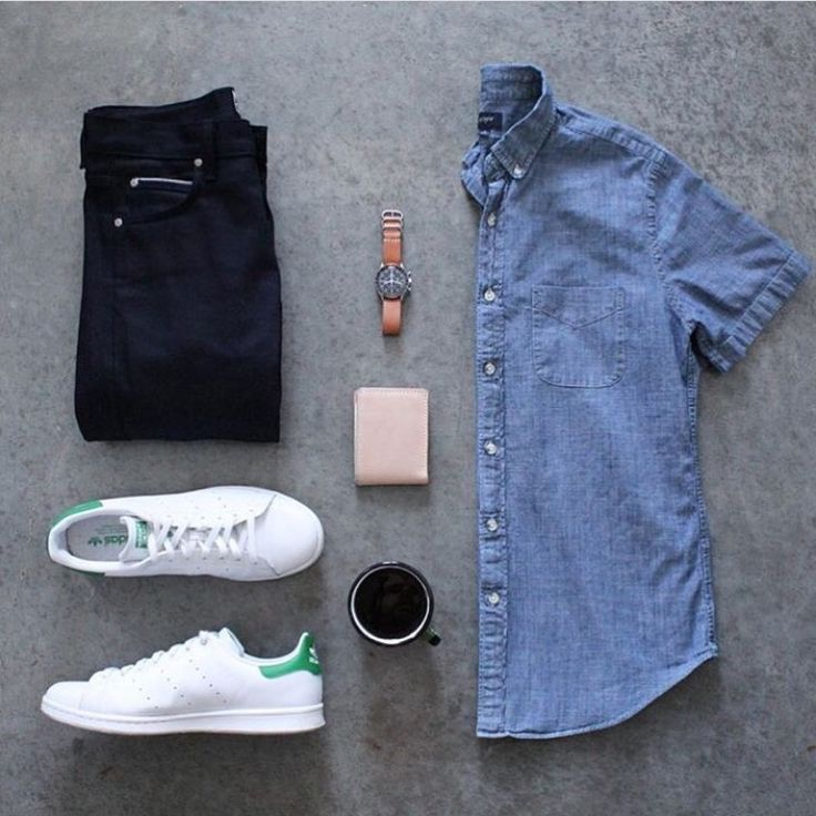 Jean blue tennis blanco adidas