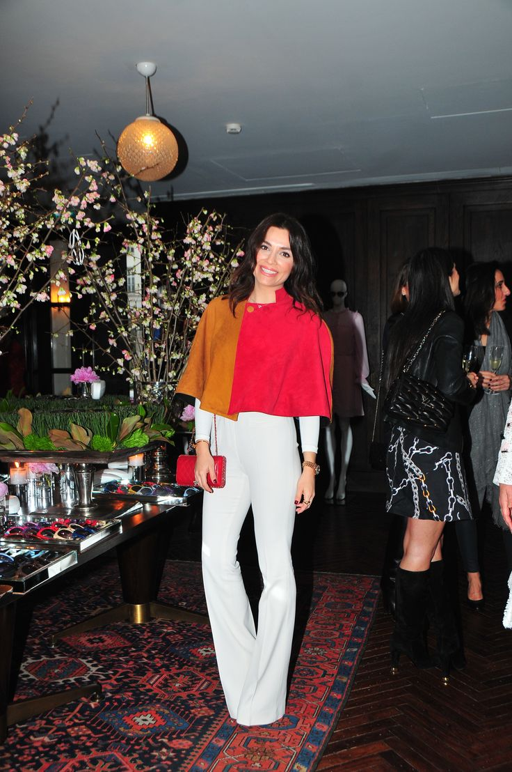 Tugana Savgi at The PINKO Invasion event, Soho House, Istanbul