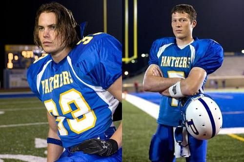 So I know I'm about six years too late for this but...Tim Riggins (fave) and Matt Saracen. Friday Night Lights.