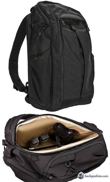 fbd13b4e488a Best CCW backpack - VERTX EDC Gamut concealed carry backpack - Learn more  at backpackies.com