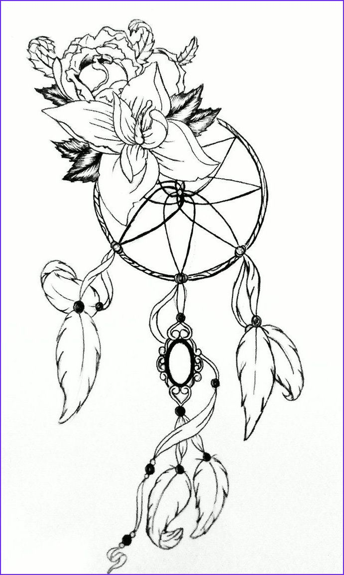 9 Inspirational Dreamcatcher Coloring Page Collection In 2020