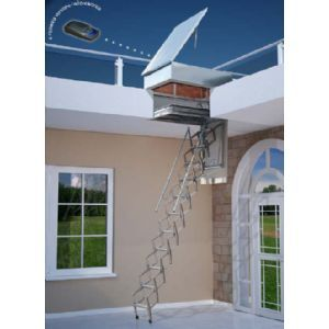 M s de 25 ideas incre bles sobre escalera tijera en for Escaleras para buhardillas plegables
