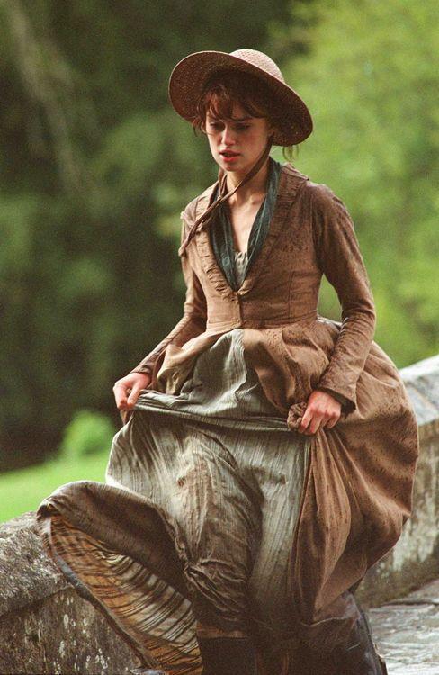 Keira Knightley in Pride and Prejudice: Keiraknightley, Lizzie Bennet, Keira Knightley, Elizabeth Bennet, Pride And Prejudice, Jane Austen, Elizabethbennet, Prejud 2005