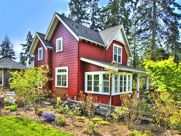 Bella Rossa Cottage in Washington State - see more at: www.house-crazy.com